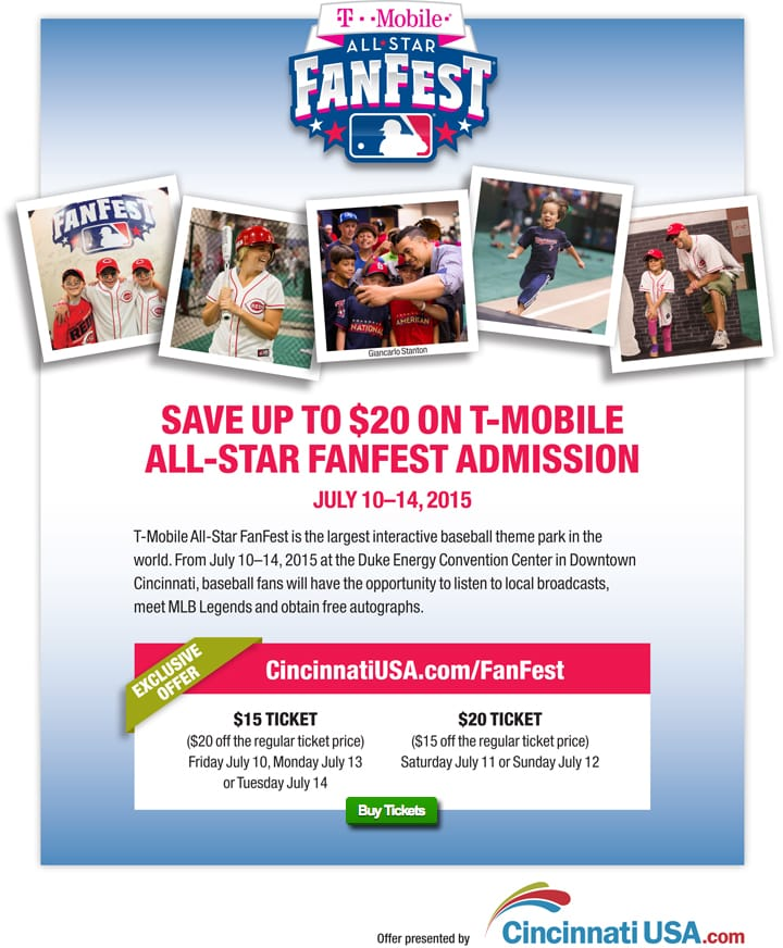 FanFest Offer one-